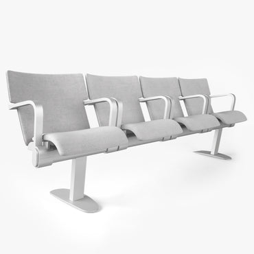 Figueras Seats Benches 633 Tulipa 3D Model