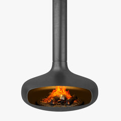 Focus Domofocus Hanging Fireplace 3D Model