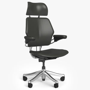 Humanscale Freedom Headrest Executive Chair 3D Model