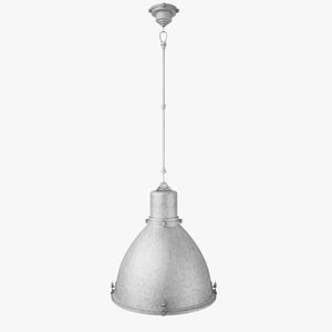FREE Fulton Large Pendant 3D Model