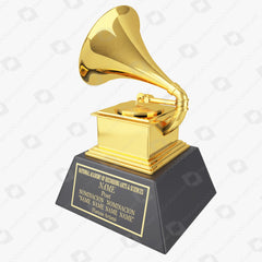 Grammy Award Trophy 3D Model