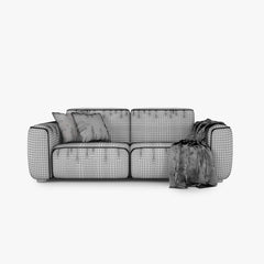 FREE IKEA Dagarn Sofa Series 3D Model