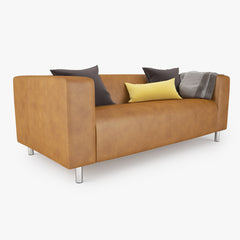 FREE IKEA Klippan Loveseat Sofa 3D Model