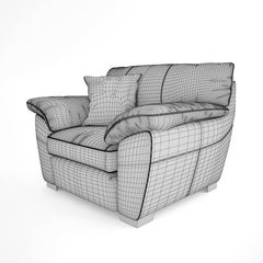 FREE IKEA Vreta Chair 3D Model