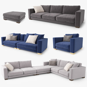 Jardan Enzo Sofa Collection 3D Model
