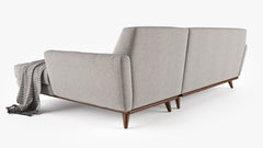 Joybird Hughes Sectional Sofa 3D Model