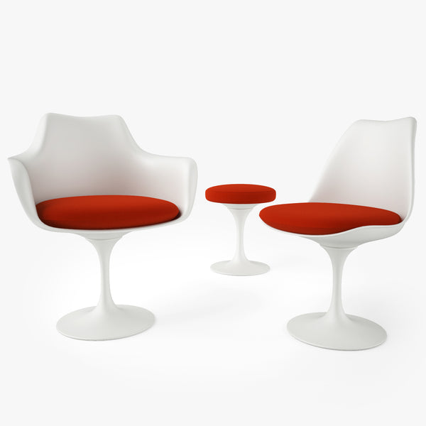 FREE Knoll Tulip Chair and Armchair 3D Model