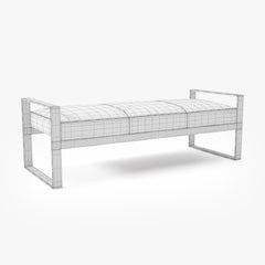 Kravet New Canaan Bench B835 3D Model