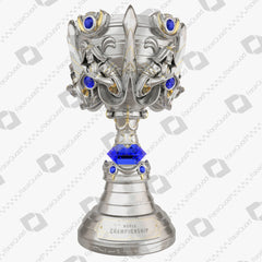 League of Legends World Championship Summoner's Cup Trophy 3D Model