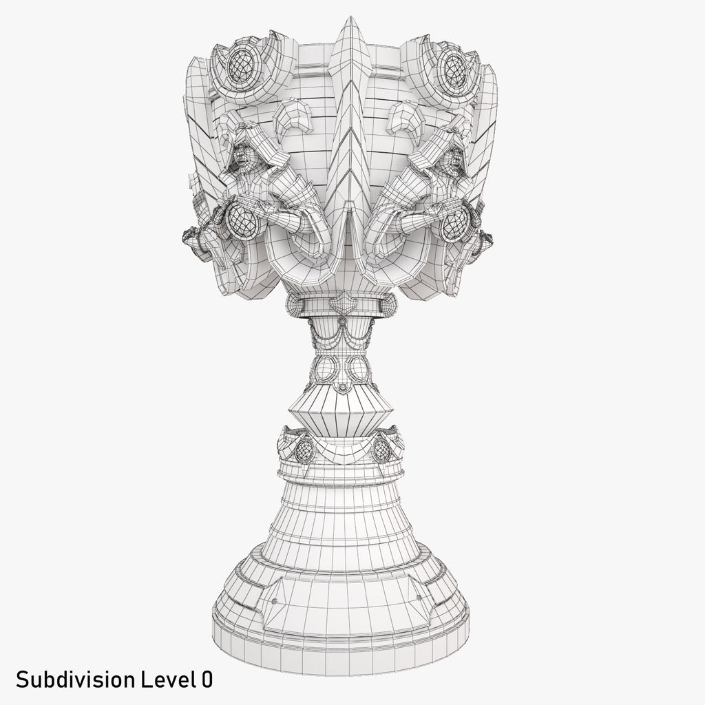 League Of Legends World Championship Summoners Cup Trophy