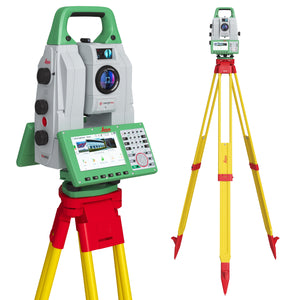 Leica Nova MS60 MultiStation Total Station 3D Model
