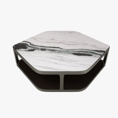 FREE Longhi Tiles Hexagonal Coffee Table 3D Model