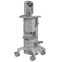 Medtronic Covidien Puritan Bennett 980 Ventilator Series 3D Model