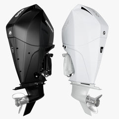 Mercury Fourstroke 300hp v8 Outboard Motor 3D Model