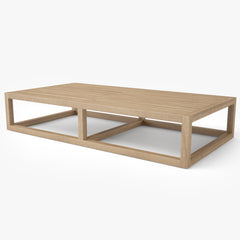 Restoration Hardware Aviara Teak Coffee Table 3D Model