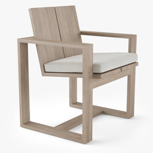 Restoration Hardware Porto Dining Chair 3D Model