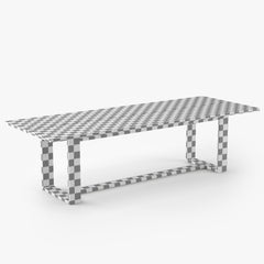 Restoration Hardware Porto Dining Table 3D Model