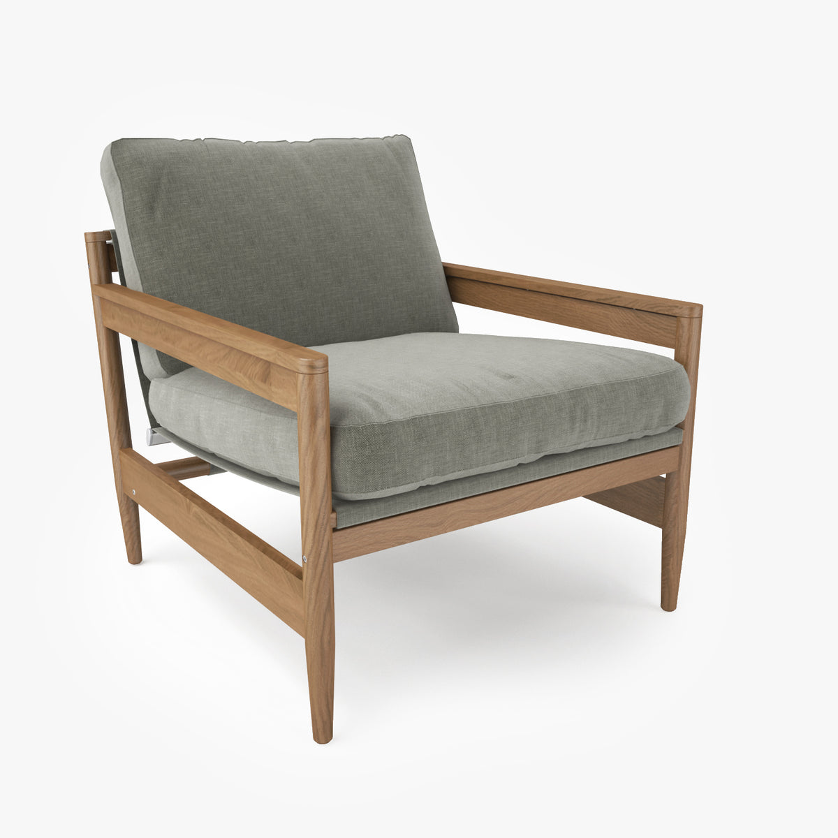 Roda ROAD 141 Sofa Chair 3D Model