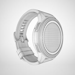 Samsung Galaxy Watch Silver 3D Model