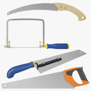Saws Collection 3D Model