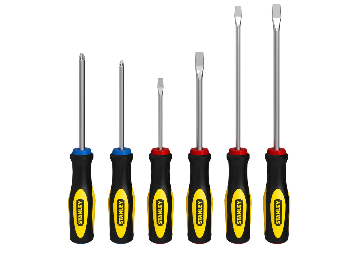 Stanley Piece Screwdriver Set 3D Model