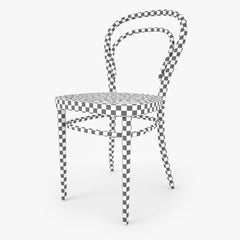 Thonet 214 Chair 3D Model