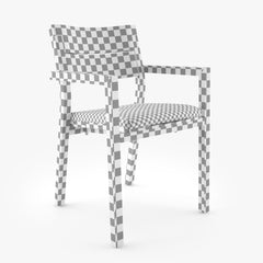 Tribu Kos Armchair 3D Model