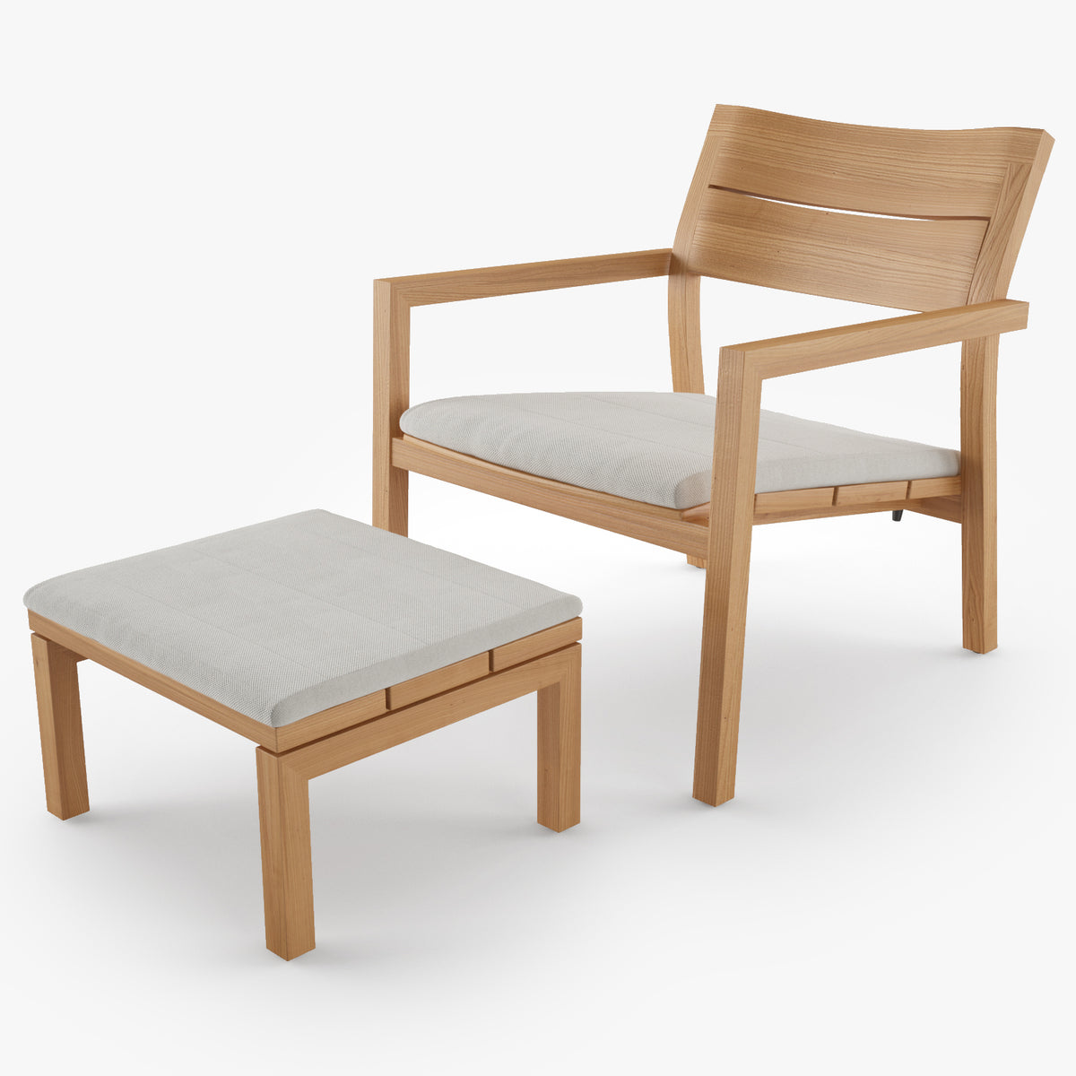 Tribu Kos Easy Chair 3D Model