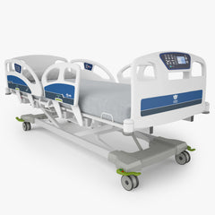 Umano Medical Ook snow Hospital Bed 3D Model
