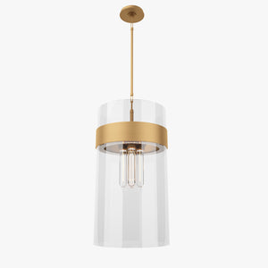 FREE Visual Comfort S5674BZ-CG Pendant Lamp 3D Model