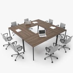 FREE Vitra Conference Table 3D Model
