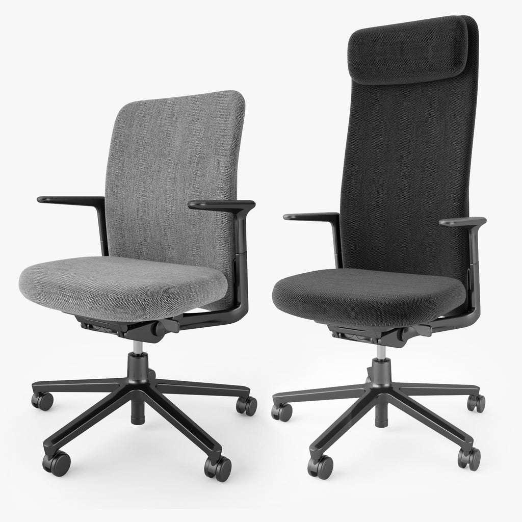 Vitra Pacific Office Chair 3d Model Facequad