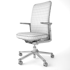 Vitra Pacific Office Chair 3D Model