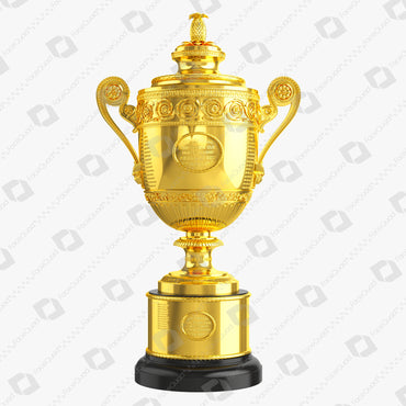 Wimbledon Trophy 3D Model