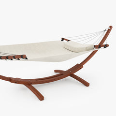 Wooden Hammock 3D Model