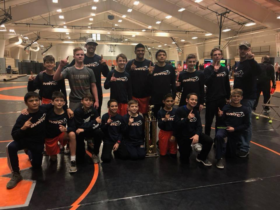 Team BVRTC Grabs Gold at McDonogh Duals