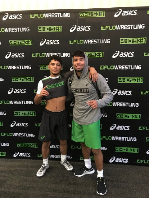 California Wrestlers Go 2-1 at Who's Number One Wrestling Event