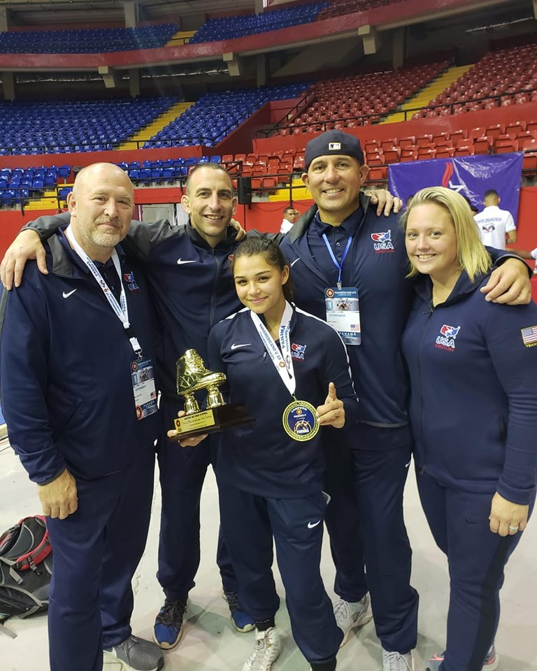Birmingham's Katie Gomez Wins Wrestling Gold at Cadet Pan American Championships