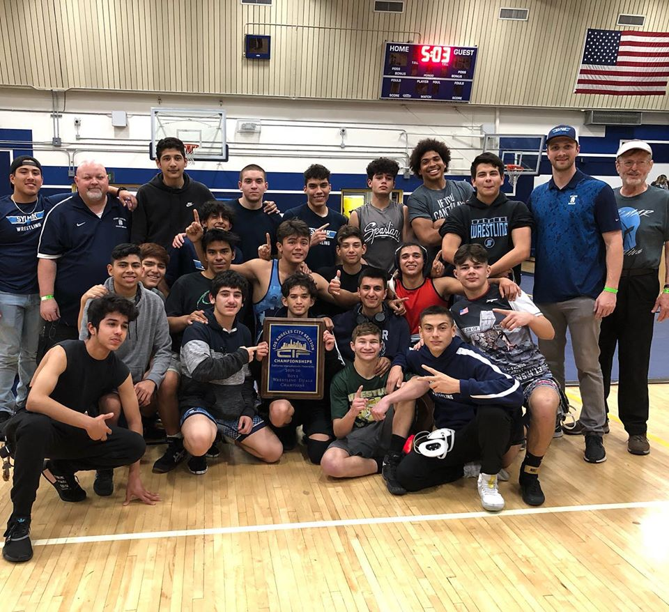 Sylmar High Wins Los Angeles Section Duals