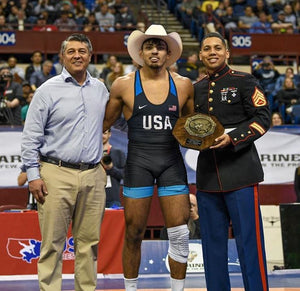 California wrestlers win individual titles at the U.S. Open Senior Nationals