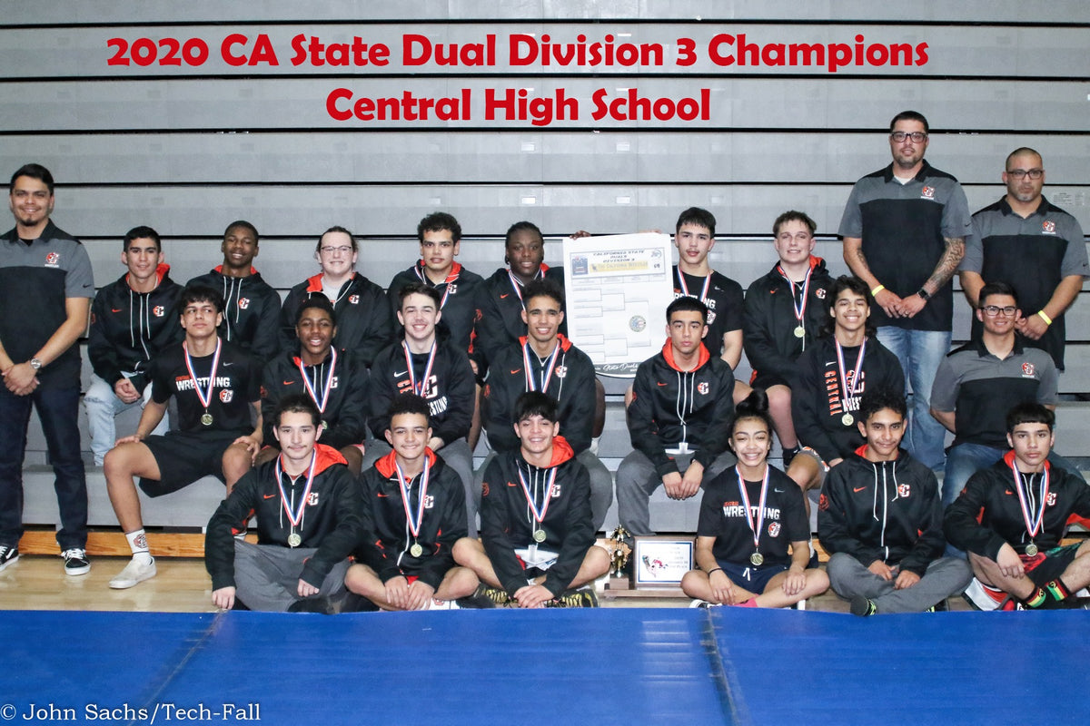 Central High wrestling team wins the state championship in duals