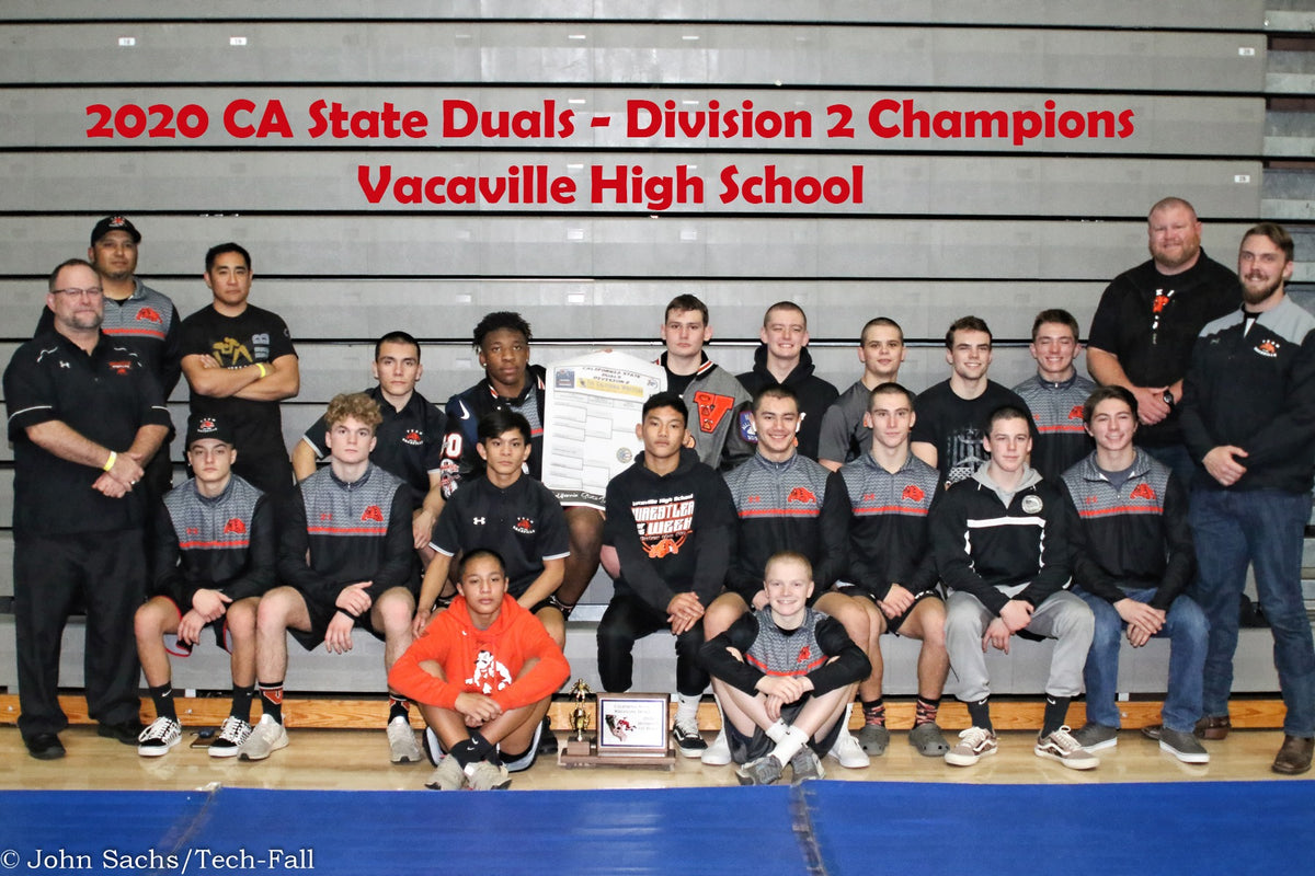 Vacaville High wins California State Duals Division II