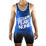 Respect All Fear None Reversible Singlet