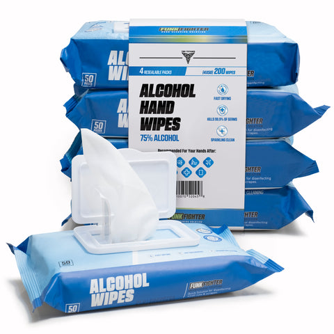 75% Alcohol Premium Disinfecting Wipes