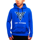 Tri-Titans Cotton Hoodies