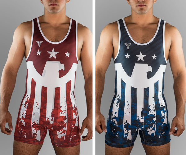 Victorious Eagle Reversible Singlet