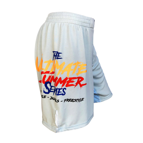 USS Grey Fight Shorts