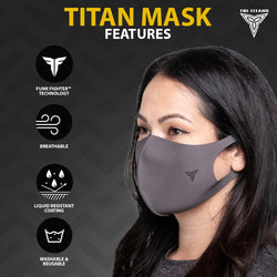 Tri-Titans Face Mask (Pack of 3 Masks)