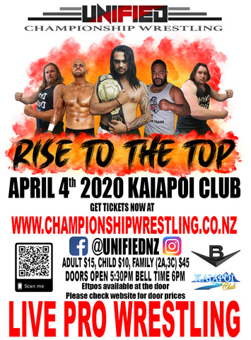 RISE TO THE TOP - CANCELLED UNTIL FURTHER NOTICE