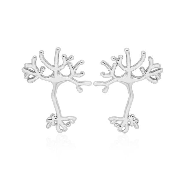 Anatomy Neuron Stud Earring - Jewelux & Co.